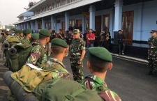 أرسلت القوات المسلحة الإندونيسية فرقة عمل تابعة للجيش الوطني الإندونيسي إلى بالو
