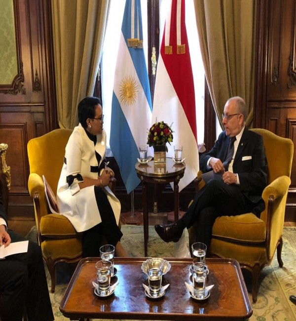 Bilateral Meeting Indonesia and Argentina