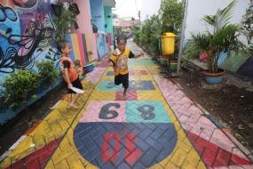Kampung Bekelir in Tangerang, West Java