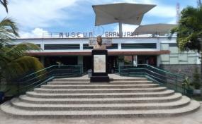 Museum Brawijaya in de stad Malang, Oost Java