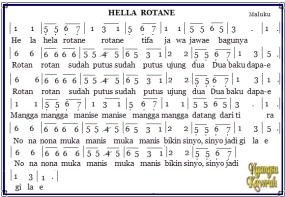 Traditioneel Liedjes van de Provincie Noorth Maluku