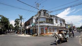 Oude Stad Ampenan in Lombok, West Nusa tenggara