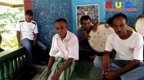 Een traditionele muzieksinstrument 'Feko Genda' vanuit Ende, Oost Nusa Tenggara