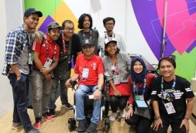 APC feliciteert INAPGOC voor het succes in Asian Para Games 2018