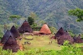 La Maison traditionnelle de Mbaru Embo de Nusa Tenggara Est