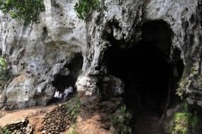 La grotte de Pawon à l'ouest de Java