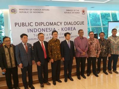 Le ministère indonésien des affaires étrangères a tenu un dialogue sur la diplomatie publique concernant la Corée