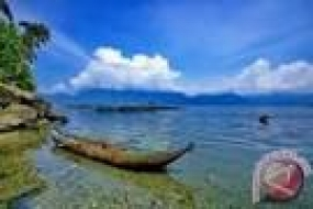 Le lac paniai, en Papouasie.