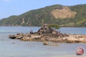 La plage de Tanjung Aan, à Lombok