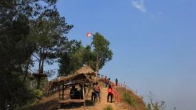 Sommet de la colline Becici à Yogyakarta, Java Central