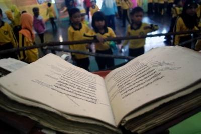 60 anciens manuscrits malais ont été numérisés par l'Université Lancang Kuning Riau