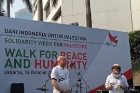 Walk for Peace  and Humanity