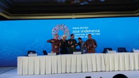 Das jährliche Treffen der IWF-WBG 2018 in Bali ging zu Ende.