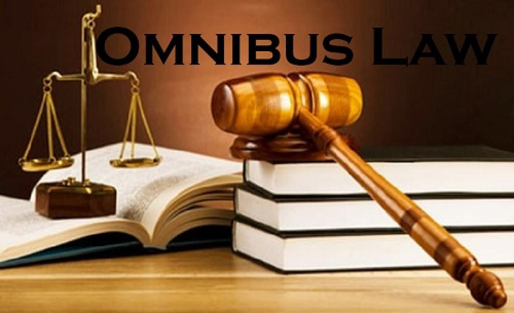 Based on 'Omnibus Law to Create Employment', the Government and Parliament must explain it to the Community