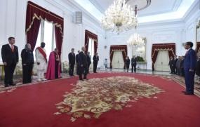 Retno Marsudi外相は、大使は、インドネシアのリーダーシップへの感謝を伝える