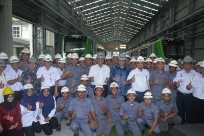 印尼工业部长:在火车制造业,印尼是大角色