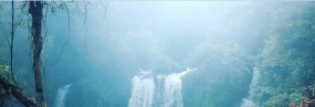 Purwokerto, Baturaden, Jenggala 瀑布
