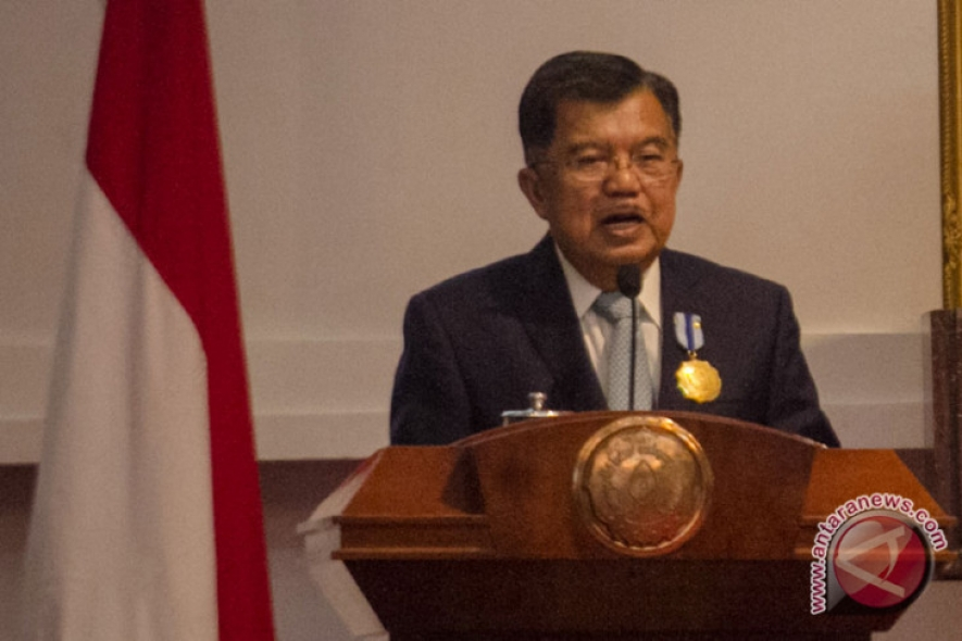 VP Jusuf Kalla delivered his speech