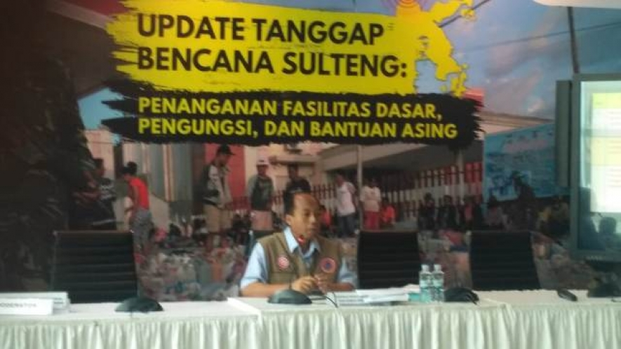 Head of Data Center, Information, and Public Relations of the National Disaster Mitigation Agency-BNPB, Sutopo Purwo Nugroho