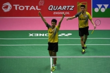 Indonesia's Thomas Cup Badminton Team Proceeds to Semifinal Round