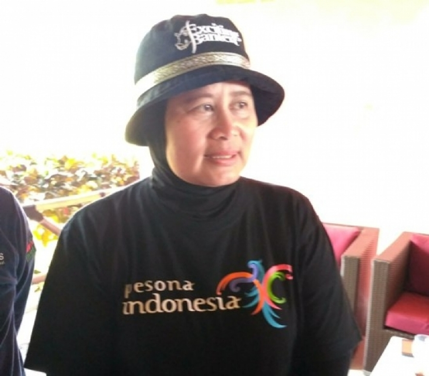 Head of Banten Tourism Office, Eneng Nurcahyati