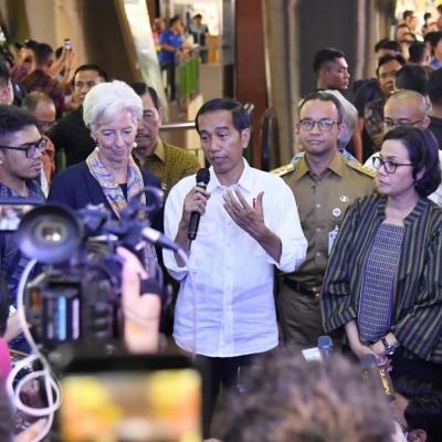 Blusukan of IMF Managing Director