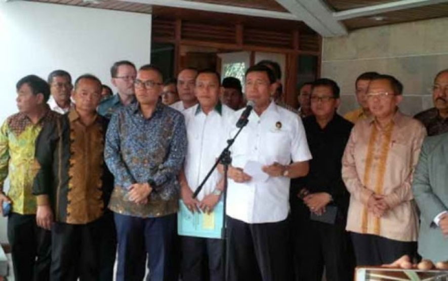 Coordinating Minister for Political, Legal, and Security Affairs, Wiranto