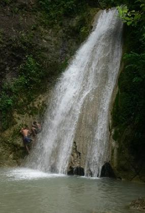 Cascada de Kedung Pedut, Kulon Progo, Yogyakarta