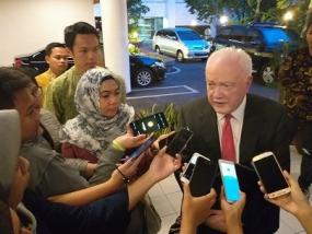 Palestina aprecia la postura de Indonesia con respecto al discurso sobre el traslado de la Embajada de Australia de Tel Aviv a Jerusalén