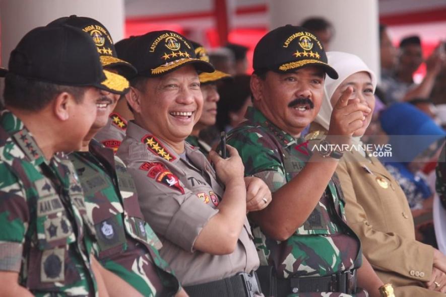 インドネシア国軍TNIの司令官は、2019年総選挙の安全を保証する